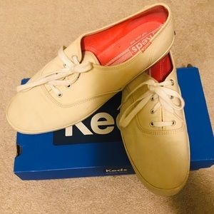 Keds Sneakers- Off White Color